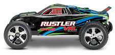 Traxxas Rustler 2WD VXL Electric RTR Stadium Truck No Battery/Charger TRA370764