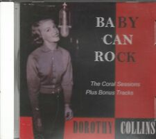 DOROTHY COLLINS - CD - Baby Can Rock - BRAND NEW