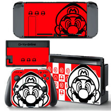 Ci-Yu-Online [NS] Super Mario Odyssey White Red VINYL SKIN  Nintendo Switch