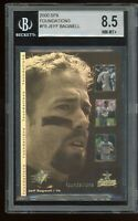 2000 SPX Foundations Foil #F8 Jeff Bagwell BGS 8.5 NM-MT+ ~Astros Insert