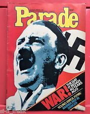 AUSTRALIAN PARADE MAGAZINE - AUGUST 1979 - ADOLF HITLER COVER PAGE