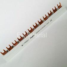Hager KDN363A Sammelschiene, Phasenschiene, Kammschiene, Gabelschiene - 3 Phasen