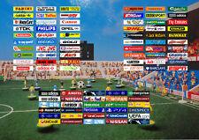 Subbuteo or Zeugo Stadium Stickers