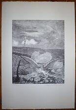 Herbert Lespinasse gravure sur bois salon d'automne Bateau Lavoir usa