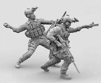1/35 Resin US Navy Seals 2 Soldiers in Fight Unassembled Unpainted BL676