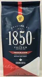 Folger 1850 Trailblazer Medium Dark Roast Ground Coffee 12 oz