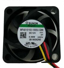 Sunon MF40101V2-1000U-G99 40mm x 40mm x 10mm Vapo Bearing Fan, 3Pin