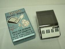 VINTAGE MADE IN HONG KONG PLASTIC PIANO PIANOLA CIGARETTE DISPENSERS ~ NEW MIB!