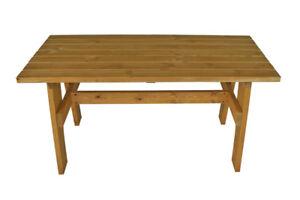 Gartentisch Holztisch Gartenmöbel Tisch FREITAL 70x150cm, Kiefer imprägniert