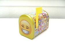 You've got mail! Emoji Mini Tin Mailbox Organizer Container Yellow Bn
