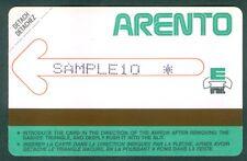 TELECARTE EGYPTE EGYPT TEST 2- Urmet - Test Demo- SAMPLE 10 - 1985 - Mint - RARE