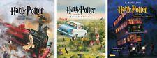 Harry Potter 1, 2, 3 illustrierte Schmuckausgabe von J. K. Rowling