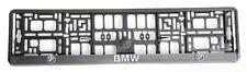 2x Kennzeichenhalter Nummernschildhalter für BMW 3D set NEU set