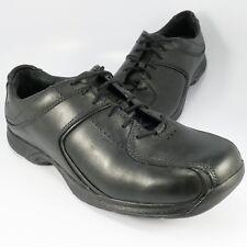 Men's Dunham REVcandor, Size: 10 D, Black Full Grain Leather