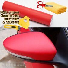 "24"" x 60"" Matte Flat Red Vinyl Film Wrap Sticker Decal Bubble Free Air Release"