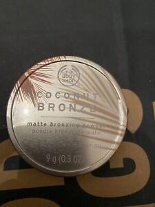 New Sealed Body Shop Coconut Bronze Matte Bronzing Powder 05 Dark 9g