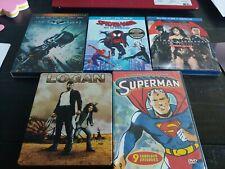 Superhero Movie lot set pack Batman Logan Justice League Dc Marvel anime