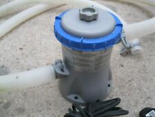 Bestway pool pump, capacity 330gal./h, in good used condition