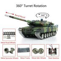 Mato Metal Barrel Muzzle for HengLong 3869//79-1 1//16 RC Jagdpanther Tank