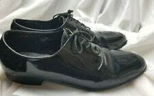 Frederico Leone Supreme Black Patent Formal Dress Shoes Sz 13 Tuxedo Mens A5