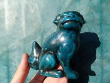 Chien FU FOO lion chinois Thailande Statue Feng-Shui guardian dog asiatique