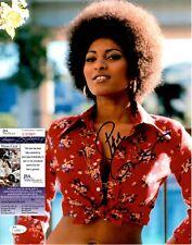 Pam Grier Signed 11x14 Photo w/ JSA COA #S30991 Foxy Brown Coffy Jackie