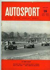 Autosport April 6th 1956 * Goodwood Pâques & SNETTERTON & Brands Hatch *