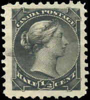 Canada Used 1882 1/2c VF Scott #34 Small Queen Stamp