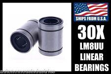 BULK! Qty. 30, 8mm Linear Bearings, LM8UU