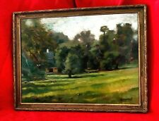 EXCEPTIONAL VERY RARE ORIGINAL KEVIN BROAD LANDSCAPE PAINTING - ARTIST SIGNED