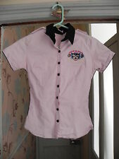 Drag Strip Rockabilly Shirt Pin Up 50 S Rock American Diner Style Avec Chat Design