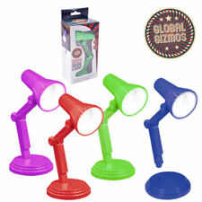 LED FLEXIBLE CLIP ON MINI BOOK READING NIGHT LAMP BATTERY OPERATED TRAVEL LIGHT