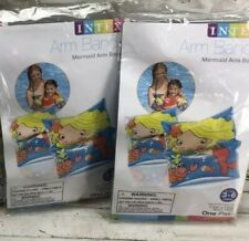 Intex Swimming Arm Bands Mixed Lot of 3 Pair 3-6 Yrs Inflatable Floaties Floats