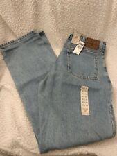 NWT Men's Chaps Ralph Lauren Light Blue Jeans Size 36x34