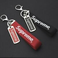 Supreme key chain set of set (black and red)