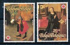 TIMBRE STAMP ZEGEL BELGIQUE CROIX ROUGE RED CROSS ROODE KRUIS 2398-2399  XX