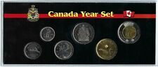 2019 Canadian Brilliant Uncirculated Canadian Six Coin Year Set in Nice Display!