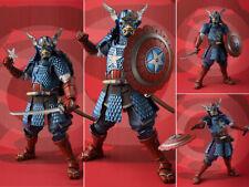 Marvel Samurai Captain America Meisho Manga Realization Action Figurine Statue
