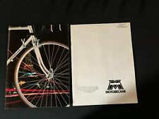 1979 Motobecane Bicycle Sales Catalog lot of 2