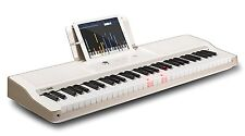 The ONE Light Keyboard Piano 61-Key Portable Keyboard Electronic Keyboard, White
