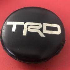 (1) TRD  WHEELS Black  CENTER CAP HUBCAP P/N:  H060