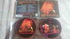 METALLICA All hell breaks loose LIVE 1992 2-CD Testament Megadeth Exodus Anthrax