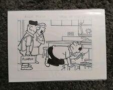 Original Hocus Focus Comic Strip Artwork by Henry Boltinoff week of July 27th