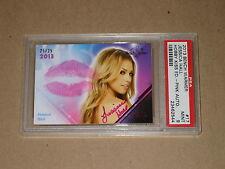 JESSICA HALL Benchwarmer 2013 HOBBY AUTO KISS SEXY PLAYBOY MODEL AUTOGRAPH PSA 9