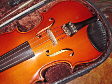 ANDREW SCHROETTER 3/4 VIOLIN CASE AND BOW 1983 GERMANY STRADIVARIUS MITTENWALD