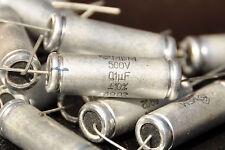25 x 0.1uF 500V 0,1 uf 100nf NEW RUSSIAN MBM Metal-Paper CAPACITORS NOS