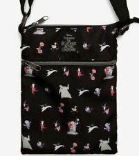 Disney The Nightmare Before Christmas Crossbody Passport Bag (New) Halloween
