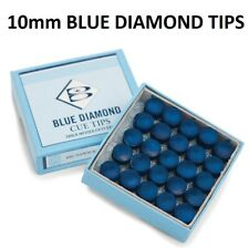 1 Only 9mm Blue Diamond Pool or Snooker Cue Tip