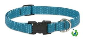 "NEW Tropical Sea Blue Dog Collar or Leash 1/2"", 3/4"" or 1"" by Lupine Eco Recycle"