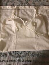 Vintage Movie Star Ladies White Cotton Slip Size 38